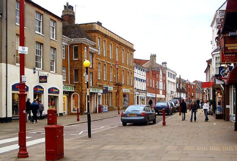 a street in Daventry