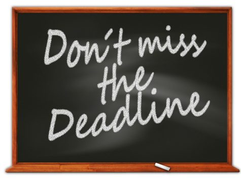 Don't Miss The Deadline Reminder
